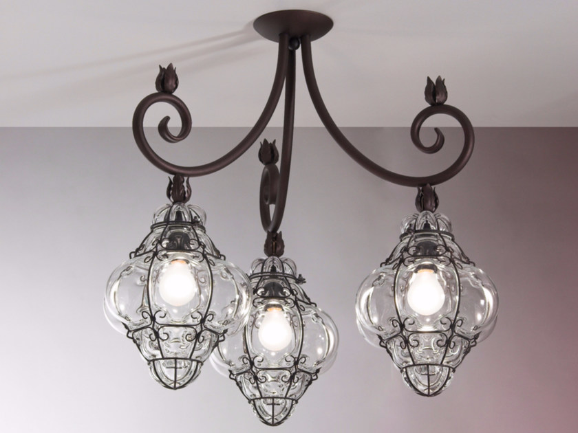 Murano glass chandelier CLASSIC MS 215 by Siru