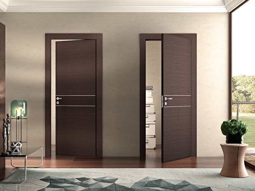 Hinged wooden door MS | Hinged door by Pail Serramenti