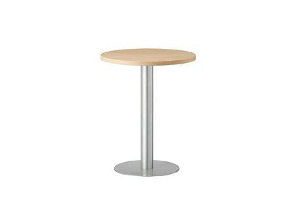 Round steel table MT 481 by Metalmobil