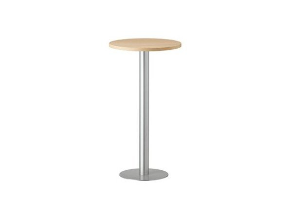Round steel high table MT 481A by Metalmobil