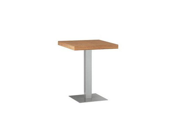 Square table MT 483 by Metalmobil
