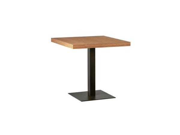 Square steel table MT 484 by Metalmobil