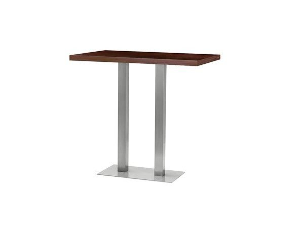 Rectangular high table MT 491A Q by Metalmobil
