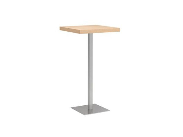 Square high table MT 498A Q by Metalmobil