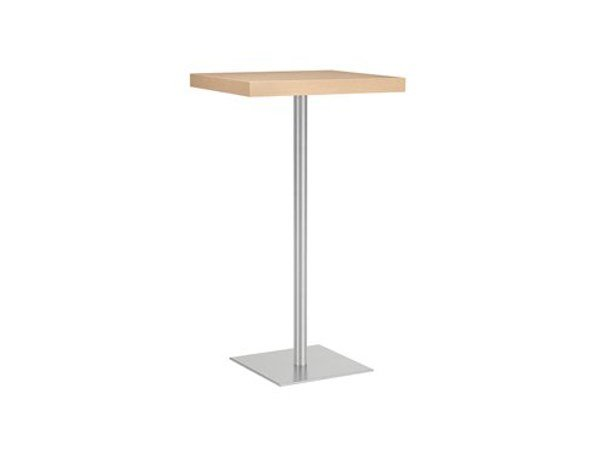 Square high table MT 498A T by Metalmobil