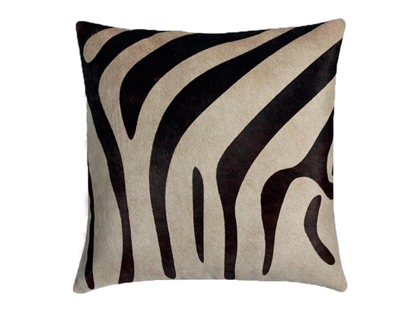 Cowhide cushion MU PRINT by Miyabi casa