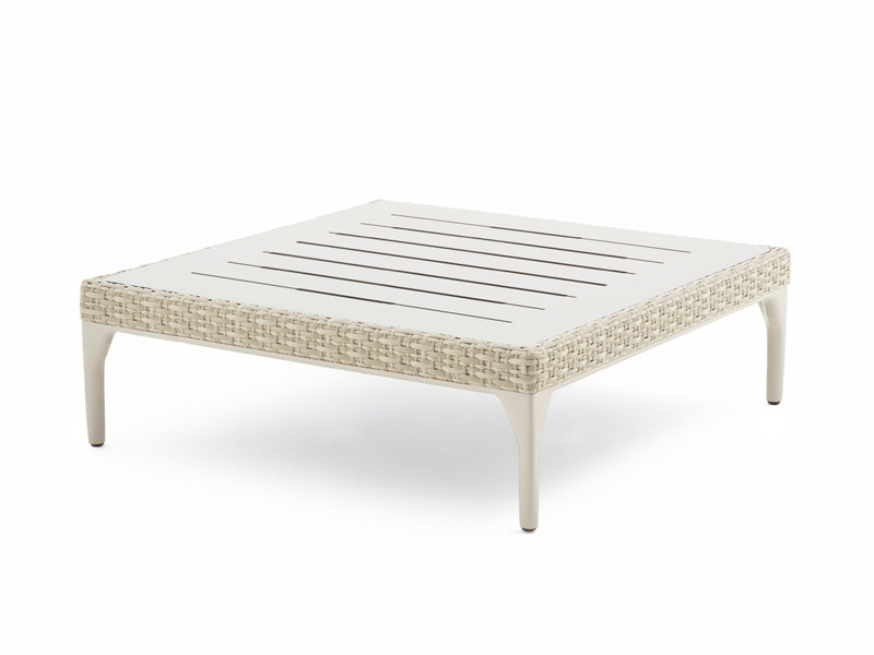 Square HPL garden side table MU | Square coffee table by DEDON