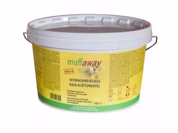 Hydraulic and hydrated lime based plaster muffaway® by Naturalia BAU