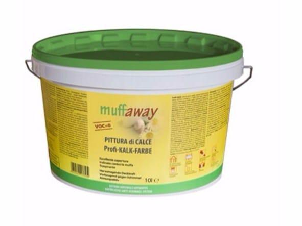Pittura antimuffa muffaway® PITTURA di CALCE by Naturalia BAU