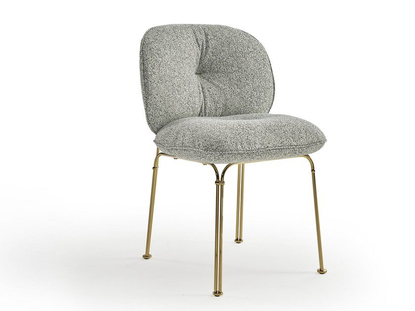 Upholstered fabric chair MULLIT | Upholstered chair by Sancal