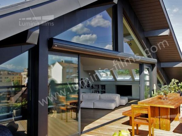 Adhesive solar control window film MULTI-102i by Luminis Films