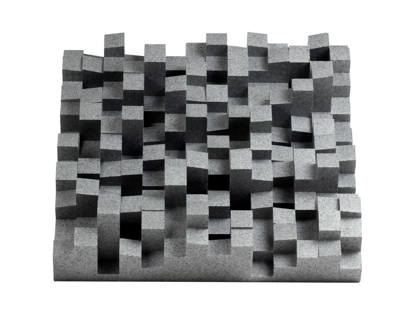 EPS Decorative acoustic panel MULTIFUSER DC2 by Vicoustic by Exhibo