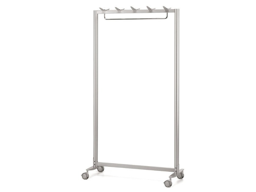 Steel coat stand MULTIKOM 3015 by TALIN