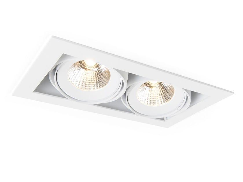 Ceiling recessed spotlight MULTIPLE 2 by Modular Lighting Instruments