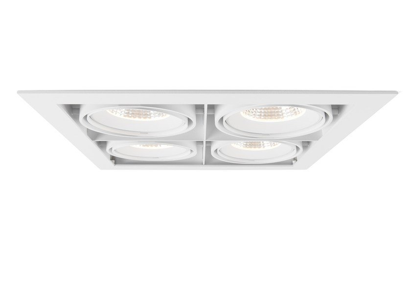 Ceiling recessed spotlight MULTIPLE 4 by Modular Lighting Instruments