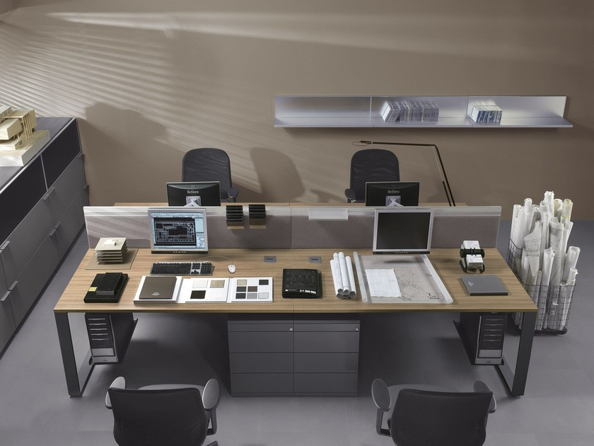 Multiple office workstation MIXT | Multiple office workstation by BALMA