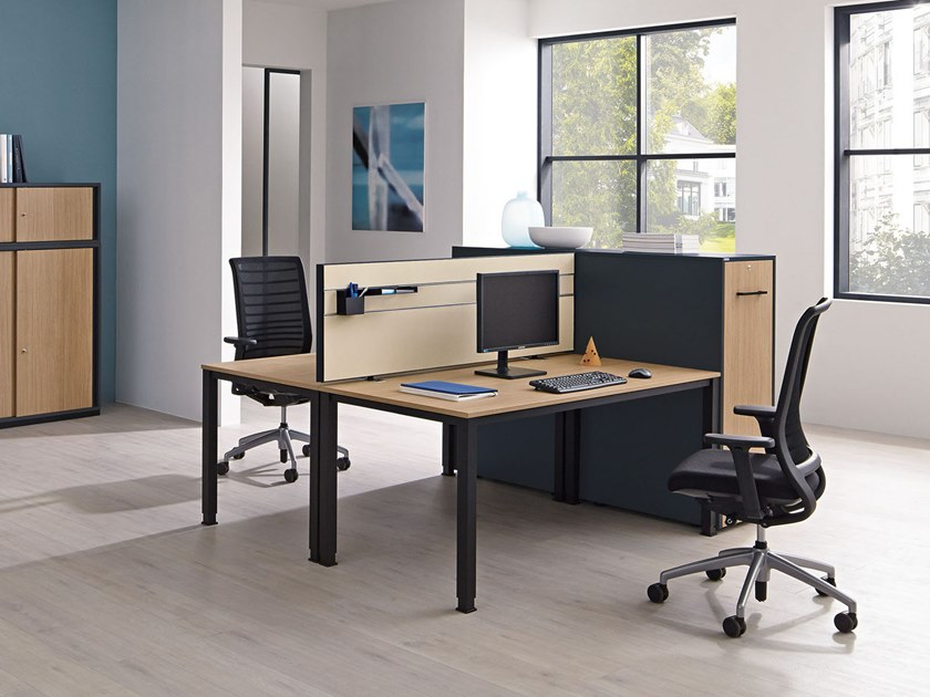 Multiple office workstation SINAC | Multiple office workstation by PALMBERG