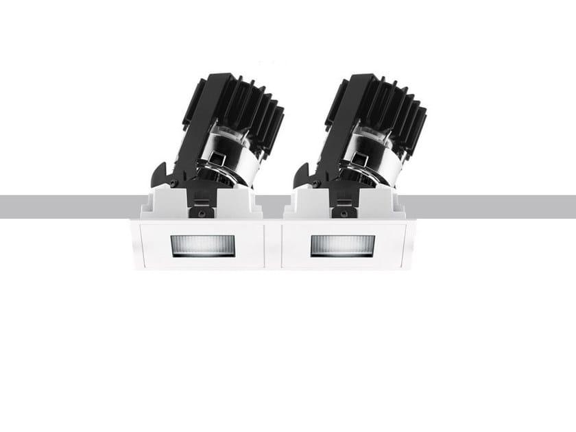 LED multiple recessed spotlight LASER PINHOLE   Multiple spotlight by iGuzzini