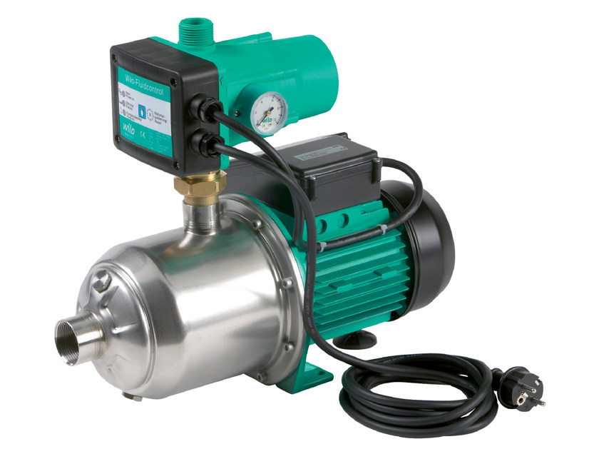 Pump and circulator for water system MULTIPRESS FMP by WILO Italia