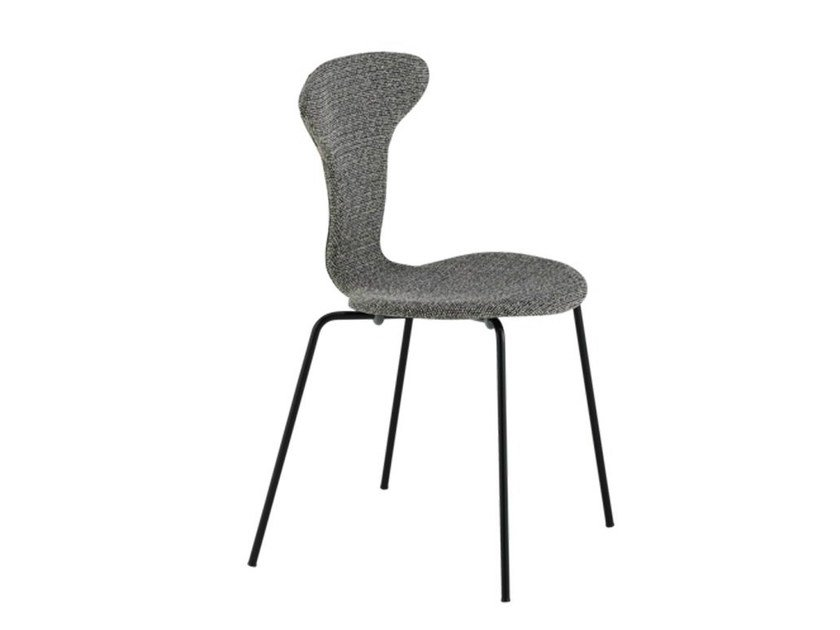 Stackable fabric chair MUNKEGAARD | Fabric chair by Howe
