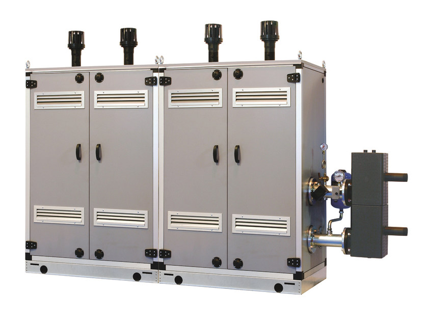 Heating unit and burner MURELLE EQUIPE BOX ErP by Sime