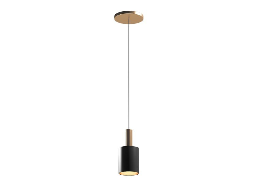 Metal pendant lamp MUSA A by Capital Collection