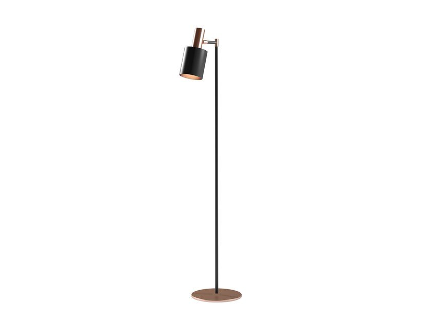 Metal floor lamp MUSA T by Capital Collection