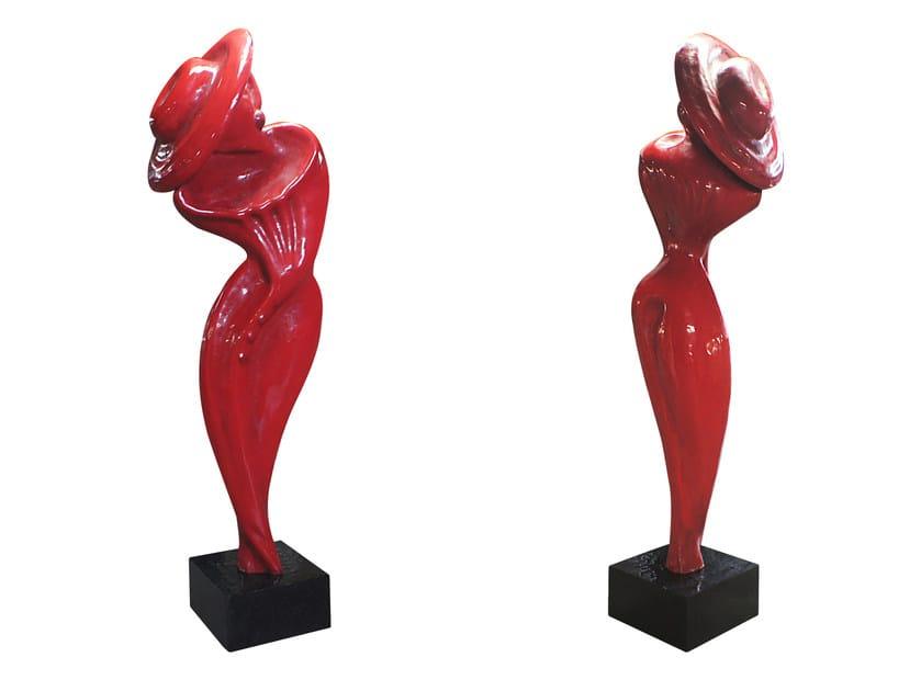 Fiberglass sculpture MUSA K1473 by KARPA