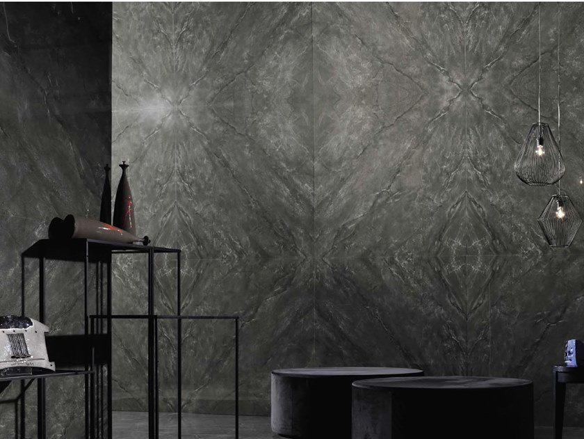Porcelain stoneware wall/floor tiles with marble effect MUSE DG by Ceramica d'Imola