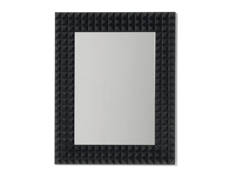Wall-mounted framed mirror MUSETTA by OPERA CONTEMPORARY