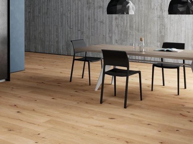 Oak parquet MUST MARK BLACK by Woodco