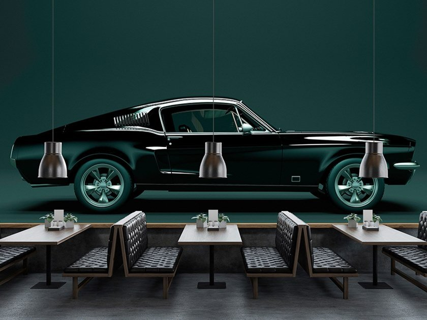 Washable Digital printing wallpaper MUSTANG by Architects Paper