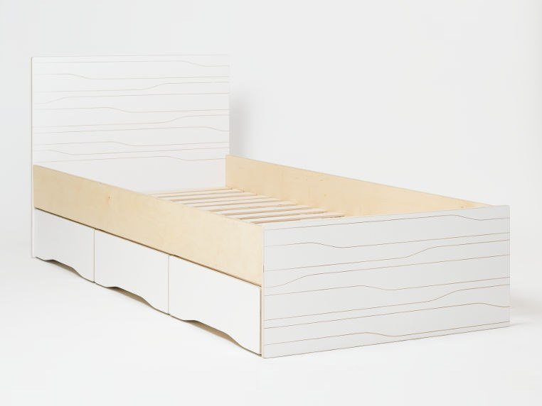 Storage bed MUSTER | Bed by Radis