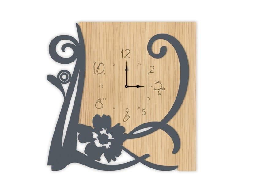 Wall-mounted MDF clock MW-194   Clock by LAS
