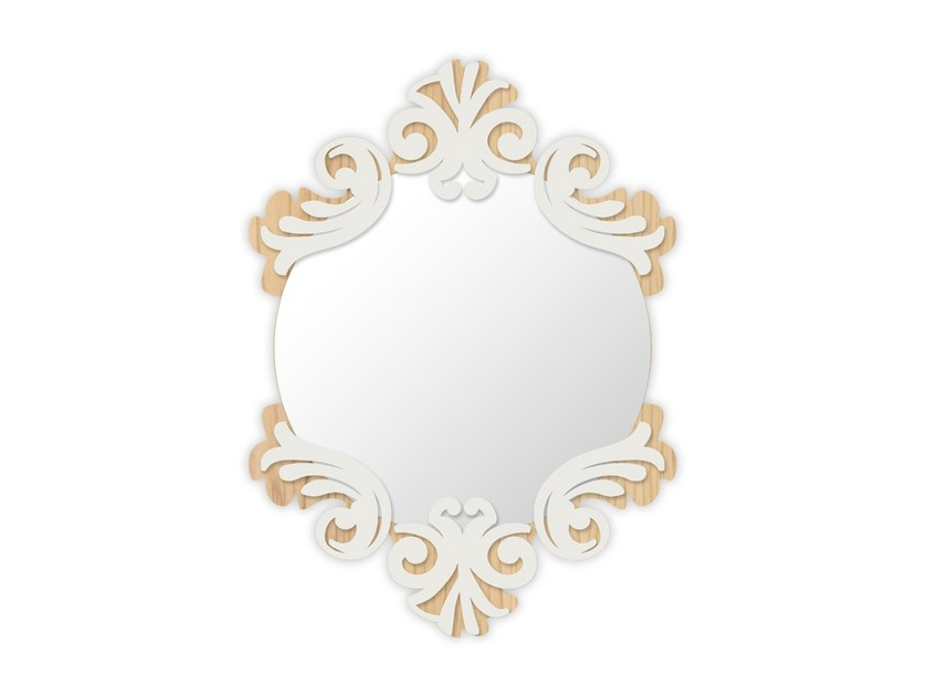 Wall-mounted framed mirror MW-248SP | Mirror by LAS