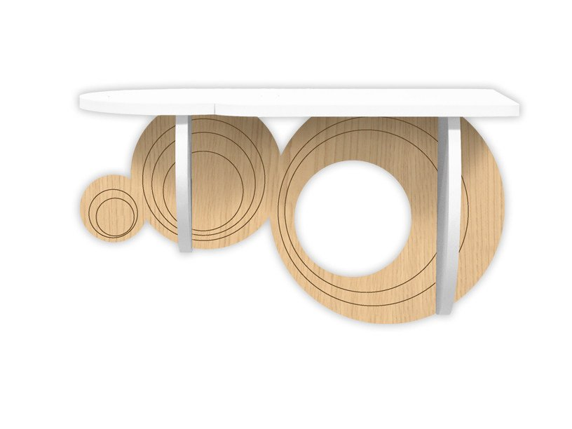 MDF console table MW-278 by LAS
