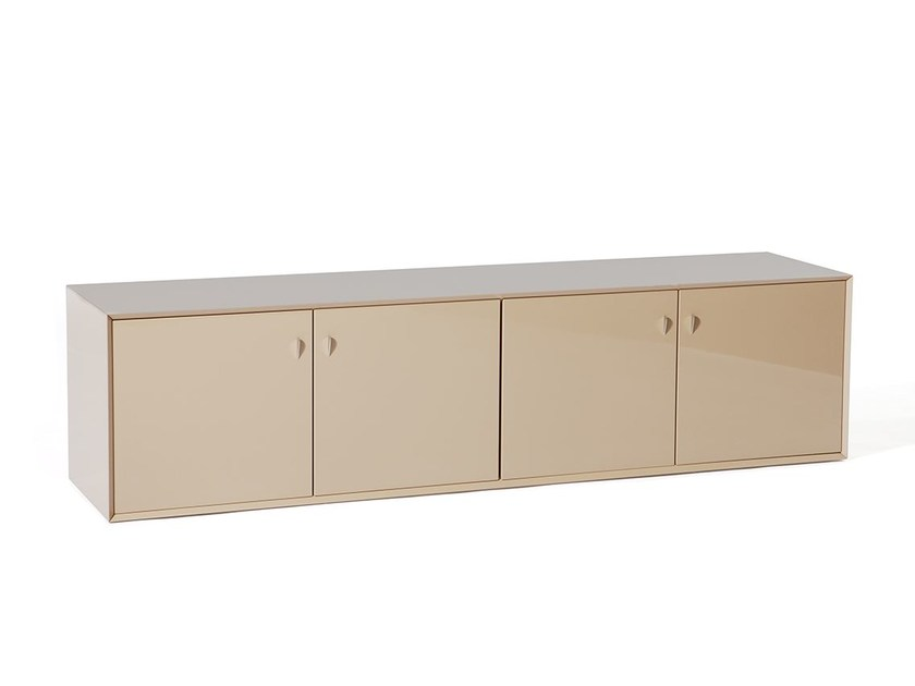 Lacquered sideboard with doors MY CASE by Paolo Castelli