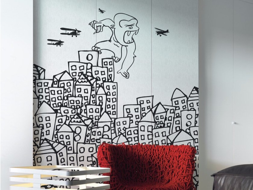 Panoramic landscape wallpaper MY KING by Inkiostro Bianco