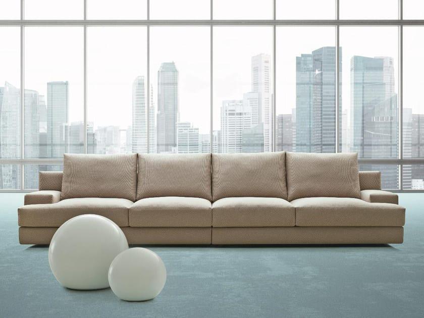 4 seater fabric sofa MY LIFE | Sofa by Papadatos