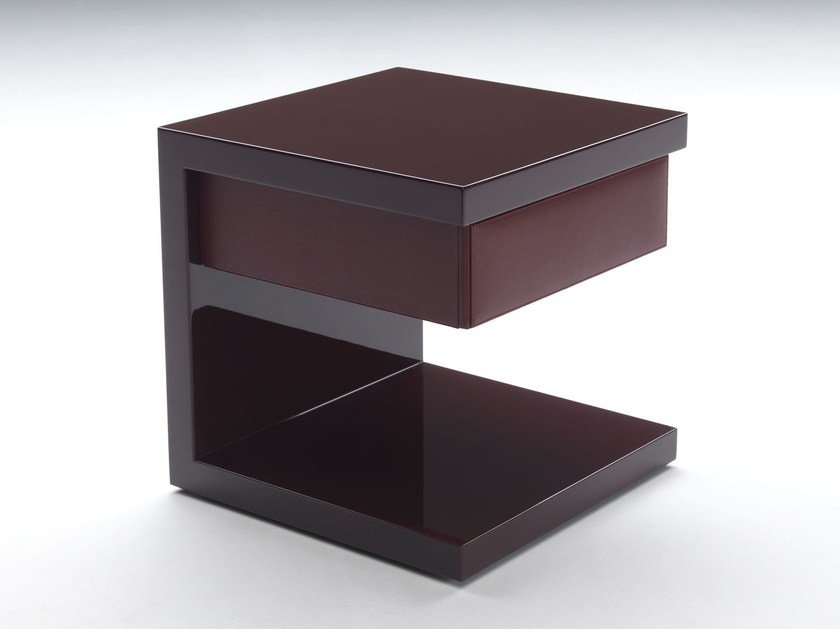 Lacquered bedside table MY LITTLE by Paolo Castelli