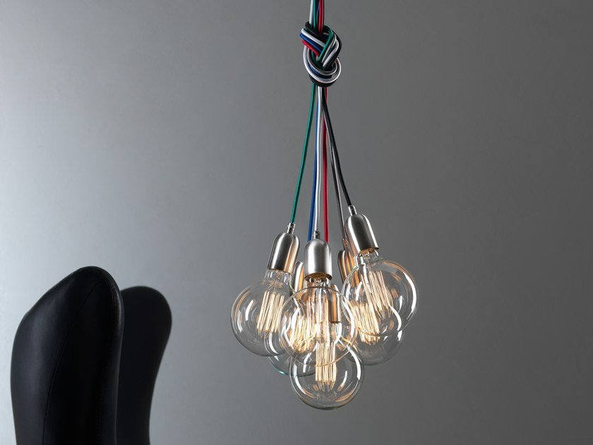 Lampada a sospensione a luce diretta MY MULTIPLE INOX by GI Gambarelli