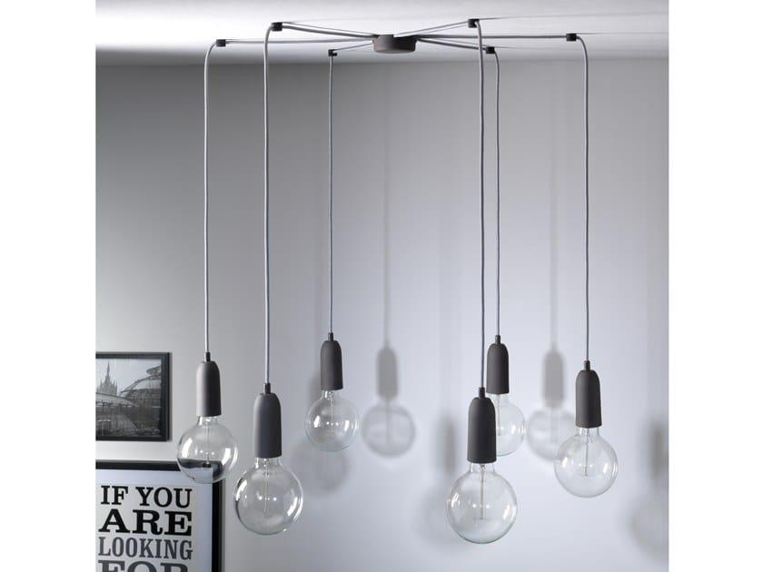 Lampada a sospensione a luce diretta MY MULTIPLE XL by GI Gambarelli
