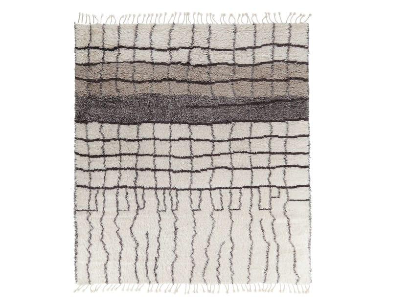 Patterned handmade wool rug MY ROCKO VOL. III by miinu
