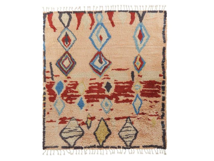 Patterned wool rug MY ROCKO VOL. VI by miinu