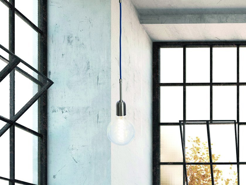 Direct light pendant lamp MY STICK'N'WIRE by GI Gambarelli