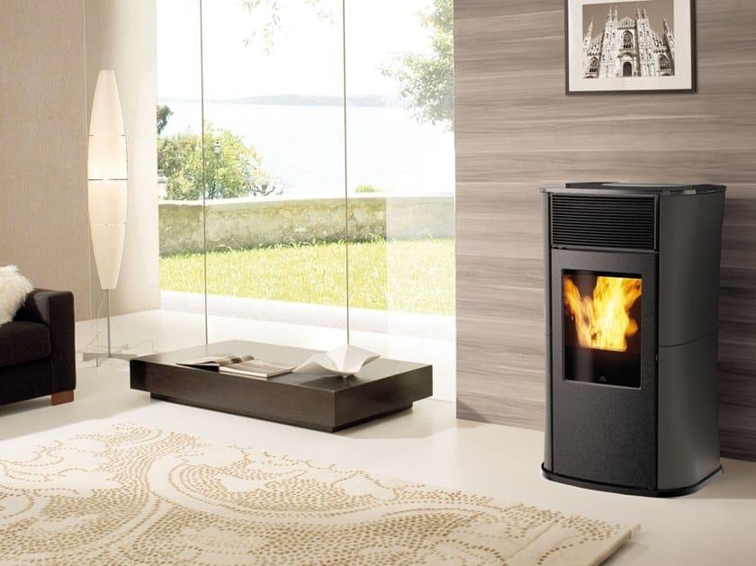 Pellet steel stove MYA ECO | Steel stove by EDILKAMIN