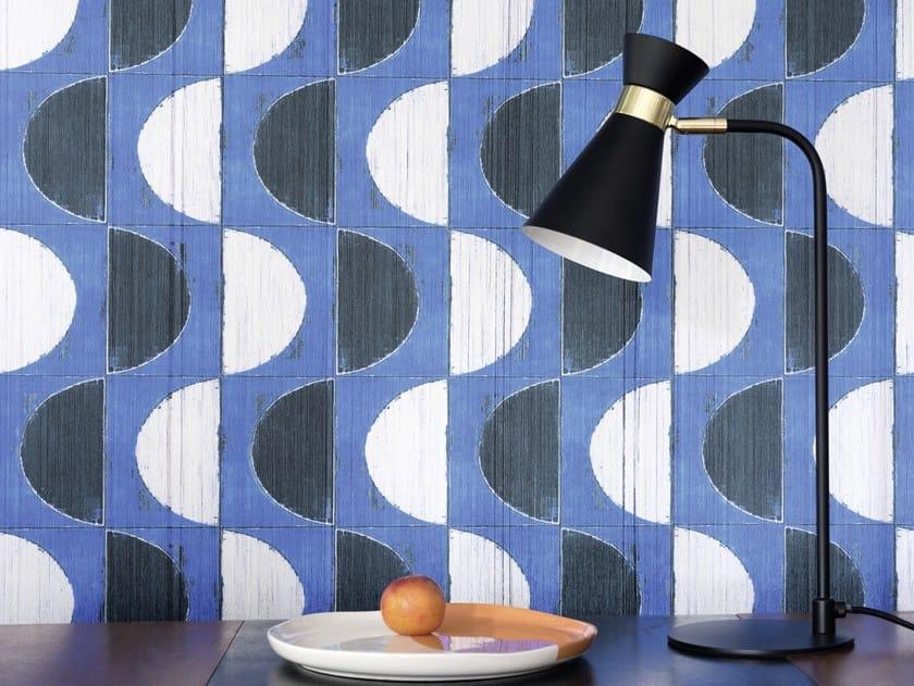 Indoor polyester wall tiles MYKONOS by Élitis