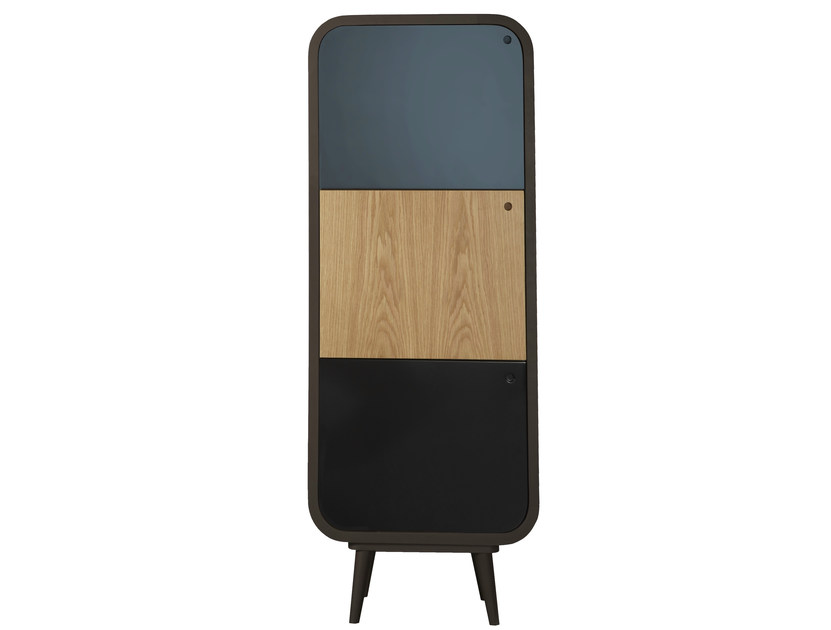 Lacquered highboard with doors MYLO   Highboard by AZEA