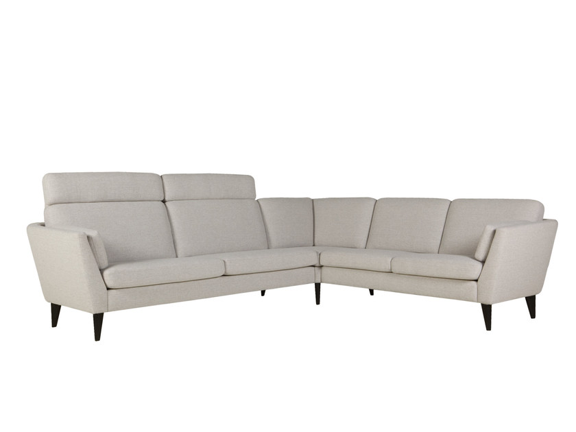 5 seater corner sectional fabric sofa MYNTA | Corner sofa by SITS