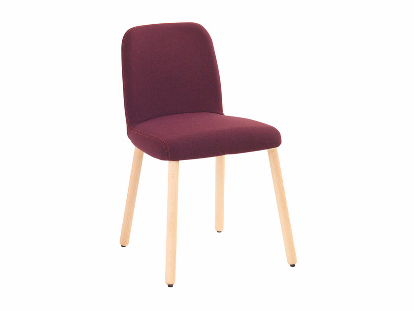 Upholstered fabric chair Myra 656 by Metalmobil